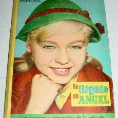 Libros antiguos: ANTIGUO LIBRO DE MARISOL EN HA LLEGADO UN ANGEL - JOSEFA FLORES GONZÁLEZ - CON NUMEROSAS FOTOGRAFIAS. Lote 25850256