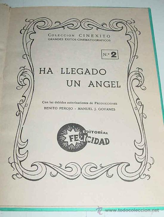 Libros antiguos: ANTIGUO LIBRO DE MARISOL EN HA LLEGADO UN ANGEL - Josefa Flores González - CON NUMEROSAS FOTOGRAFIAS - Foto 2 - 25850256