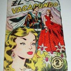Libros antiguos: COLECCION MIMOSA - EL VAGABUNDO - TROQUELADO - Nº 16 - ED. JOBAS.. Lote 14105922