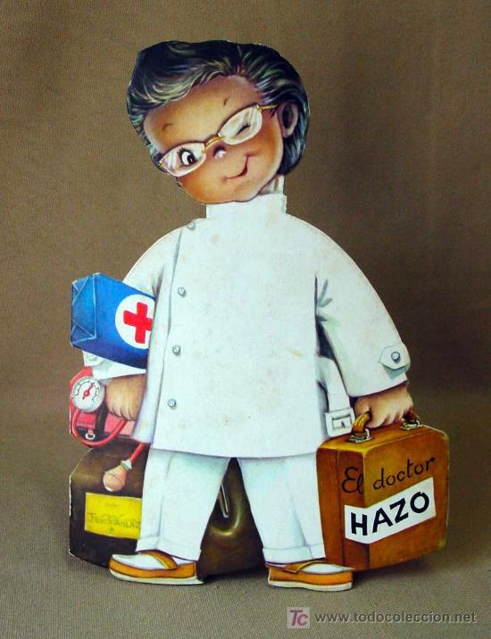 EL DOCTOR HAZO, CUENTO TROQUELADO, JUAN FERRANDIZ, VILCAR 1970 (Libros Antiguos, Raros y Curiosos - Literatura Infantil y Juvenil - Cuentos)