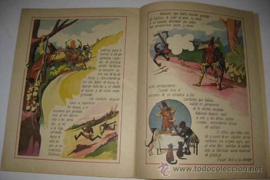 Libros antiguos: ANTIGUO CUENTO ROBINSON CRUSOE - DE LA COLECCION CUENTOS EN COLORES VIII - ED. RAMON SOPENA - DIBUJO - Foto 2 - 18930687