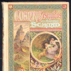 Libros antiguos: CUENTOS ESCOGIDOS DEL CANÓNIGO SCHMID.-EDIT. SATURNINO CALLEJA. Lote 15288804
