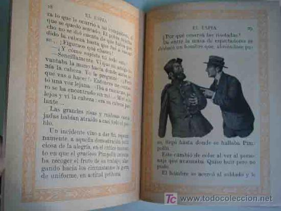 Libros antiguos: EL ESPÍA. BIBLIOTECA INFANTIL Nº11. Ramón Sopena - Foto 2 - 15381977
