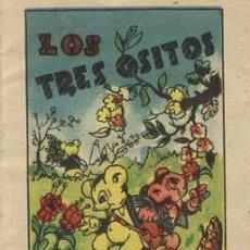 Libros antiguos: LOS TRES OSITOS (TESORO DE CUENTOS BRUGUERA SERIE 8 Nº 5). Lote 15473043