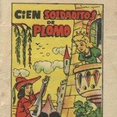Libros antiguos: CIEN SOLDADITOS DE PLOMO (TESORO DE CUENTOS BRUGUERA SERIE 7 Nº 2). Lote 15473105