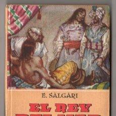 Libri antichi: COLECCION NOVELAS DE AVENTURAS DE EMILIO SALGARI Nº 12. EL REY DEL MAR. ED. CALLEJA MADRID. Lote 80667964