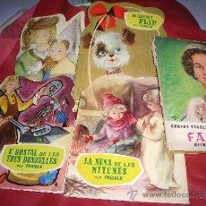 Libros antiguos: QUATRE ESCOLLITS CONTES RETALLATS DE FABIOLA. Lote 24637185
