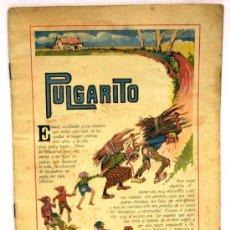 Libros antiguos: PULGARITO CUENTO RAMÓN SOPENA COLORES Nº DIBUJOS ASHA AÑOS 30 FALTAN TAPAS. Lote 16886673