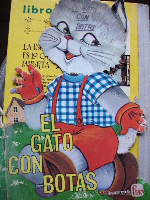 EL GATO CON BOTAS.FHER. 24 CM (Libros Antiguos, Raros y Curiosos - Literatura Infantil y Juvenil - Cuentos)