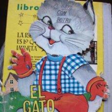 Libros antiguos: EL GATO CON BOTAS.FHER. 24 CM. Lote 20034936