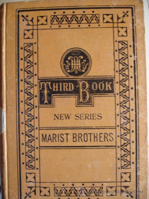 Libros antiguos: THE THIRD BOOK OF READING LESSONS THE MARIST BROTERS - Foto 1 - 24487852