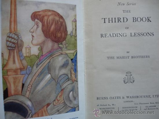 Libros antiguos: THE THIRD BOOK OF READING LESSONS THE MARIST BROTERS - Foto 3 - 24487852