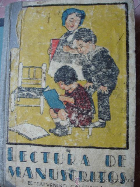 LECTURA DE MANUSCRITOS.SATURNINO CALLEJA.LECIONES DE UNA MADRE.131 PG.8ª (Libros Antiguos, Raros y Curiosos - Literatura Infantil y Juvenil - Cuentos)