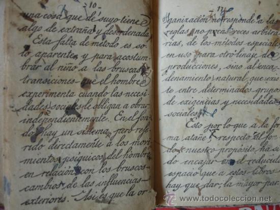 Libros antiguos: LECTURA DE MANUSCRITOS.SATURNINO CALLEJA.LECIONES DE UNA MADRE.131 PG.8ª - Foto 3 - 23777882