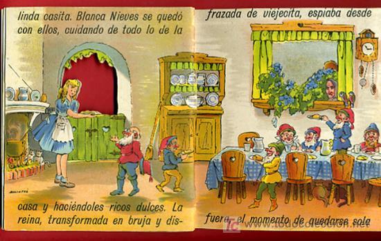 Libros antiguos: CUENTO BLANCA NIEVES, BLANCANIEVES, TROQUELADO ,EDITORIAL ROMA Nº 1 - Foto 2 - 21037468