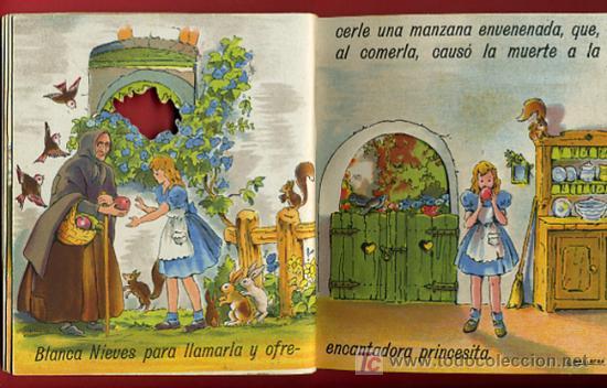 Libros antiguos: CUENTO BLANCA NIEVES, BLANCANIEVES, TROQUELADO ,EDITORIAL ROMA Nº 1 - Foto 3 - 21037468