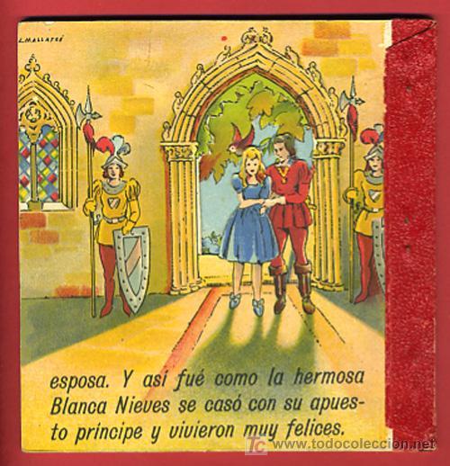 Libros antiguos: CUENTO BLANCA NIEVES, BLANCANIEVES, TROQUELADO ,EDITORIAL ROMA Nº 1 - Foto 4 - 21037468