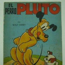 Libros antiguos: EL PERRO PLUTO. POR WALT DISNEY. EDICIÓN ARGENTINA. 32 X 24 CM.. Lote 18877693