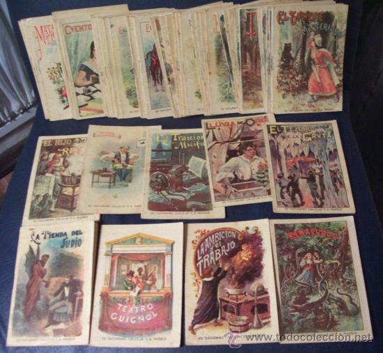 CUENTOS PARA NIÑOS - EDITORIAL SATURNINO CALLEJA - AÑOS 20 - 63 TOMOS A PARTIR DEL Nº 1 - E. GRATIS (Libros Antiguos, Raros y Curiosos - Literatura Infantil y Juvenil - Cuentos)