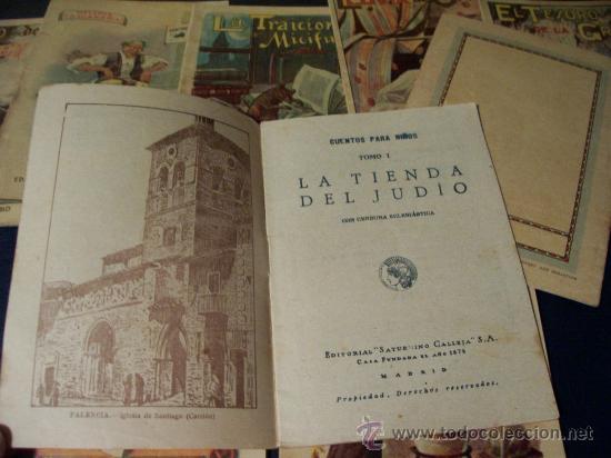 Libros antiguos: CUENTOS PARA NIÑOS - EDITORIAL SATURNINO CALLEJA - AÑOS 20 - 63 TOMOS A PARTIR DEL Nº 1 - E. GRATIS - Foto 4 - 235177170