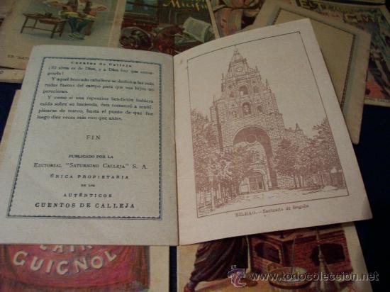 Libros antiguos: CUENTOS PARA NIÑOS - EDITORIAL SATURNINO CALLEJA - AÑOS 20 - 63 TOMOS A PARTIR DEL Nº 1 - E. GRATIS - Foto 6 - 235177170