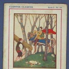 Libros antiguos: CLÁSICOS. SERIE I - Nº 24. BELLA-BELLA O EL CABALLERO AFORTUNADO. ANDERSEN. EDIT. JUVENTUD, 1932.. Lote 19031666