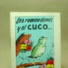 Libros antiguos: MINICUENTO, CUENTO INFANTIL, LOS REMENDONES Y EL CUCO ..., TESORO DE CUENTOS, BRUGUERA, SERIE 26, N5. Lote 19278612
