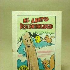 Libros antiguos: MINICUENTO, CUENTO INFANTIL, EL ABETO DESCONTENTADIZO, TESORO DE CUENTOS, BRUGUERA, SERIE 19, Nº 7. Lote 194663010