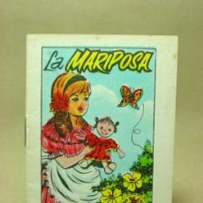 Libros antiguos: MINICUENTO, CUENTO INFANTIL, LA MARIPOSA, TESORO DE CUENTOS, BRUGUERA, SERIE 25, Nº 8. Lote 19279136