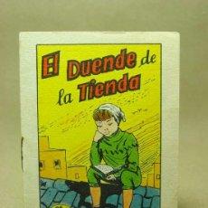 Libros antiguos: MINICUENTO, CUENTO INFANTIL, EL DUENDE DE LA TIENDA, TESORO DE CUENTOS, BRUGUERA, SERIE 18, Nº 7. Lote 19279173