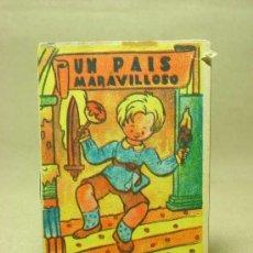 Libros antiguos: MINICUENTO, CUENTO INFANTIL, UN PAIS MARAVILLOSO, COLECCION MARGARITA ?. Lote 19280513