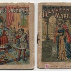 Libros antiguos: LOTE DE 2 CUENTOS (10,5X7,5) PUBLICIDAD DE J. FIGUERAS.. Lote 19325523