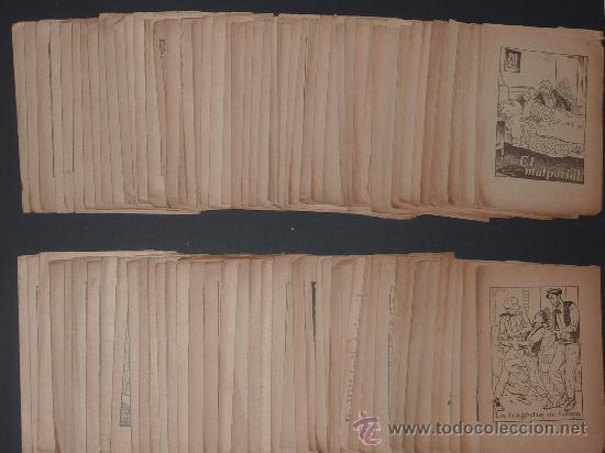 Libros antiguos: lote 135 cuentos antiguos. Suplementos de revista catalana infantil el Patufet. principios s.XX. - Foto 2 - 26058794