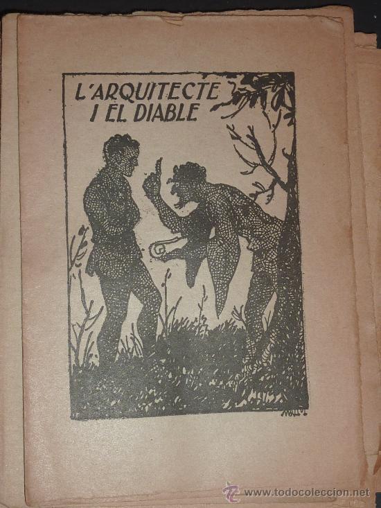 Libros antiguos: lote 135 cuentos antiguos. Suplementos de revista catalana infantil el Patufet. principios s.XX. - Foto 3 - 26058794
