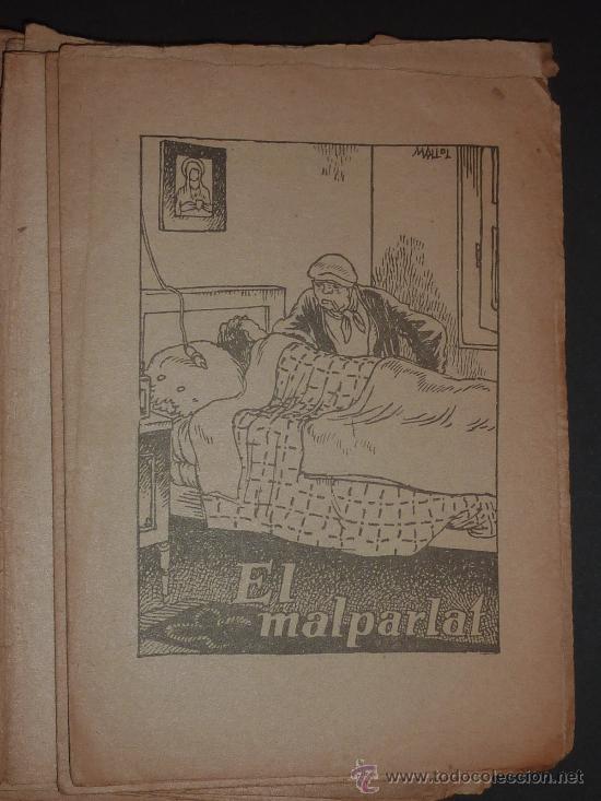 Libros antiguos: lote 135 cuentos antiguos. Suplementos de revista catalana infantil el Patufet. principios s.XX. - Foto 4 - 26058794