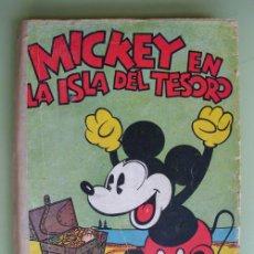Libros antiguos: MICKEY EN LA ISLA DEL TESORO. WALT DISNEY. 1934. MOLINO. Lote 19497823