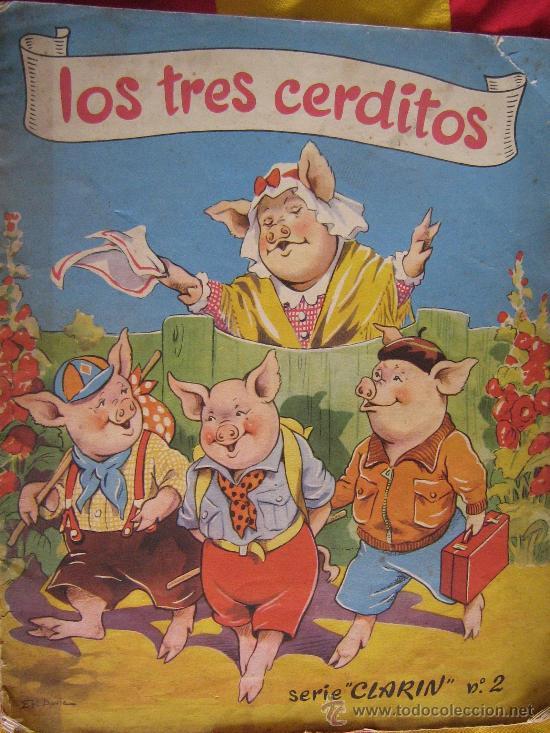 Cuento Antiguo Los Tres Cerditos Serie Quot Clarin Quot Comprar