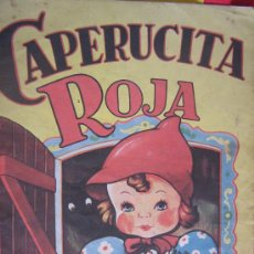 Libros antiguos: CUENTO ANTIGUO CAPERUCITA ROJA EDITORIAL SIGMAR- BUENOS AIRES Nº 15. Lote 19963902