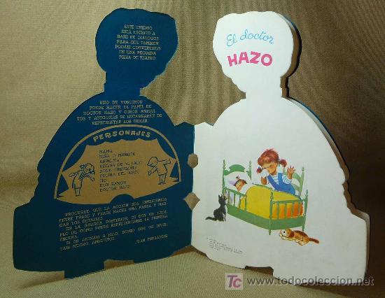 Libros antiguos: EL DOCTOR HAZO, CUENTO TROQUELADO, JUAN FERRANDIZ, VILCAR 1970 - Foto 7 - 21889549