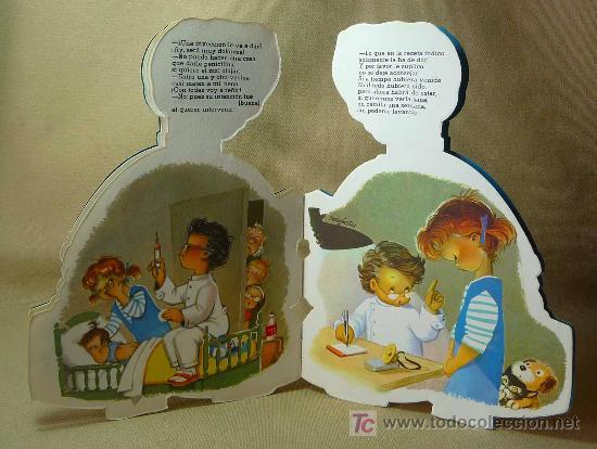 Libros antiguos: EL DOCTOR HAZO, CUENTO TROQUELADO, JUAN FERRANDIZ, VILCAR 1970 - Foto 4 - 21889549
