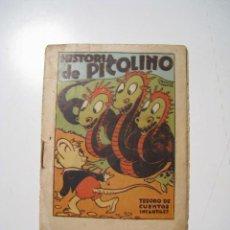 Libros antiguos: HISTORIA DE PICOLINO TESORO CUENTOS INFANTILES BRUGUERA. Lote 21023568