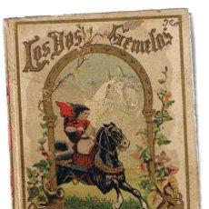 Libros antiguos: LOS DOS GEMELOS. EDITORIAL S. CALLEJA. TAPAS DURAS. 125 PP. CON ILUSTRACIONES.. Lote 21557151