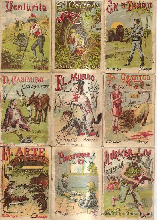 S. CALLEJA - CUENTOS DE CALLEJA COLECCION DE 43 LIBROS INFANTILES MEDIANOS 7X9,5 CM (Libros Antiguos, Raros y Curiosos - Literatura Infantil y Juvenil - Cuentos)