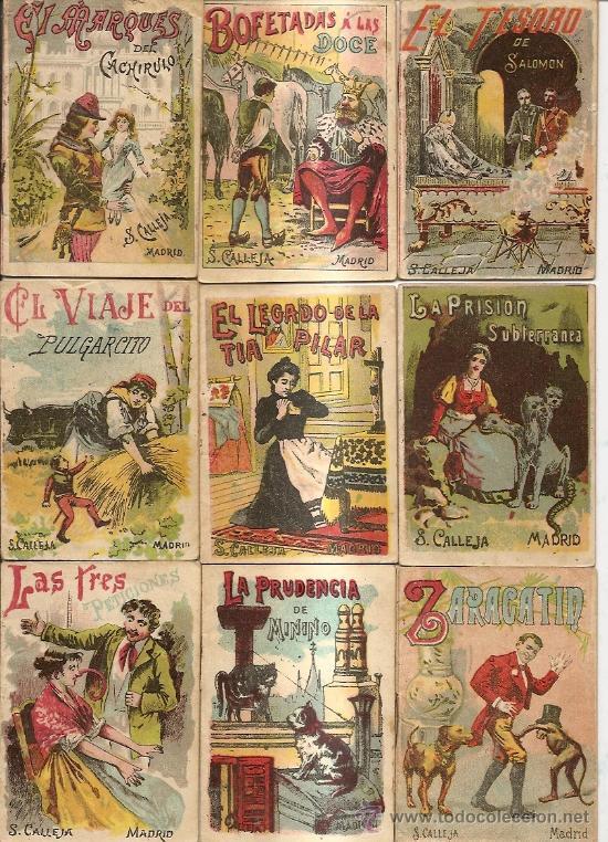 Libros antiguos: S. CALLEJA - CUENTOS DE CALLEJA COLECCION DE 43 LIBROS INFANTILES medianos 7x9,5 cm - Foto 2 - 21642503