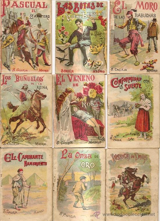 Libros antiguos: S. CALLEJA - CUENTOS DE CALLEJA COLECCION DE 43 LIBROS INFANTILES medianos 7x9,5 cm - Foto 3 - 21642503