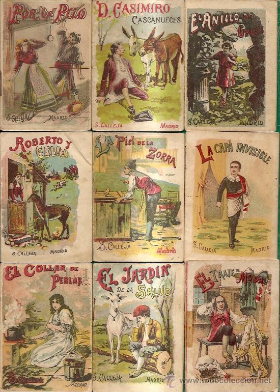 Libros antiguos: S. CALLEJA - CUENTOS DE CALLEJA COLECCION DE 43 LIBROS INFANTILES medianos 7x9,5 cm - Foto 4 - 21642503