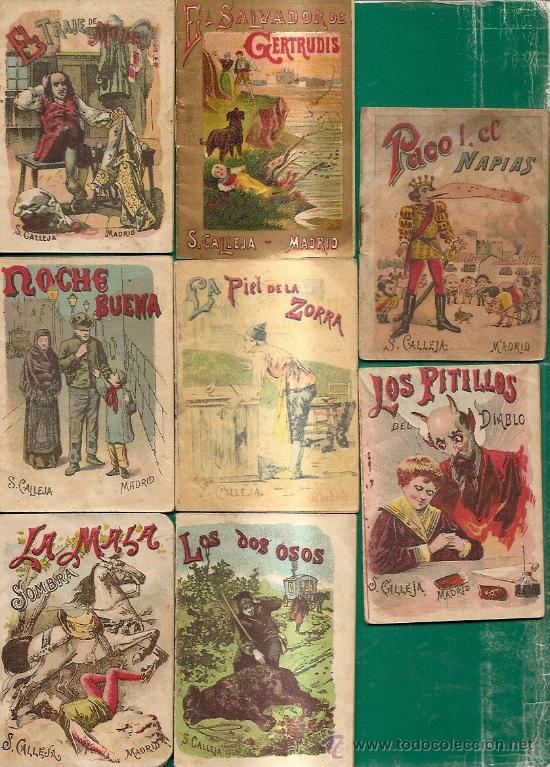 Libros antiguos: S. CALLEJA - CUENTOS DE CALLEJA COLECCION DE 43 LIBROS INFANTILES medianos 7x9,5 cm - Foto 5 - 21642503