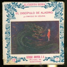 Libros antiguos: EL CUENTO ROSA. EL DISCIPULO DE ALADINO. ENRIQUE DE LEGUINA. Nº 12. EDITORIAL JUVENTUD. . Lote 21829418