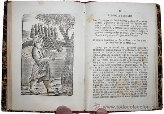 Libros antiguos: 1865 - HISTORIA de BERTOLDO BERTOLDINO Y CACASENO - Laminas - Foto 10 - 22398507