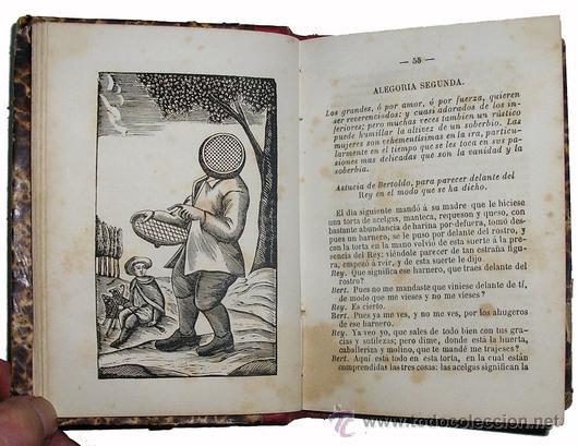 Libros antiguos: 1865 - HISTORIA de BERTOLDO BERTOLDINO Y CACASENO - Laminas - Foto 8 - 22398507